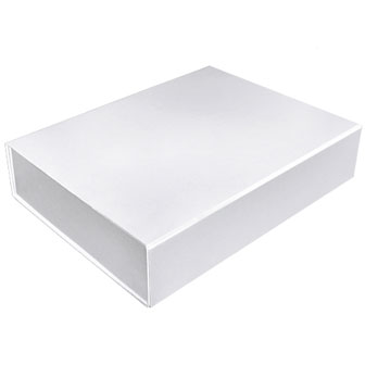 White Glossy - 14-3/8 x 10-3/4 x 3-1/8