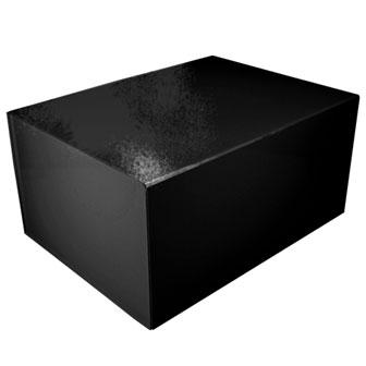 Black Glossy - 16 x 12 x 8