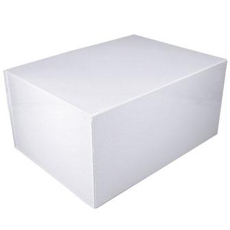 White Glossy - 16 x 12 x 8