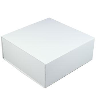 White Glossy - 6 x 6 x 2-3/4
