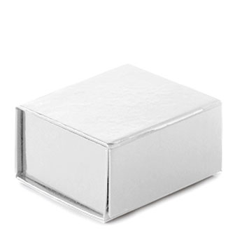 White Glossy - 4-1/8 x 4 x 2