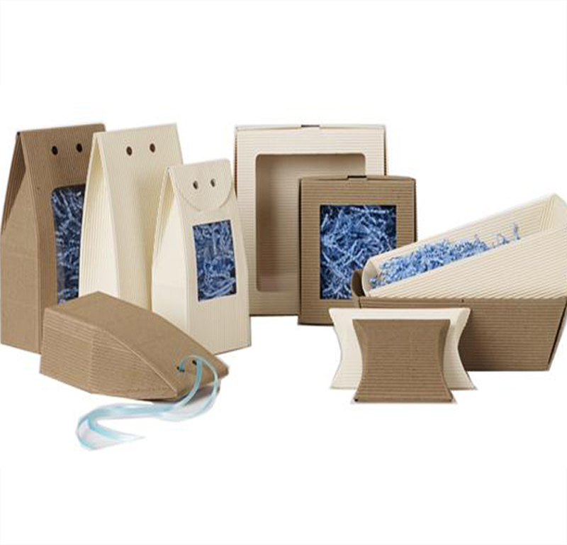 E-Flute Corrugated Tapered Tray/Basket