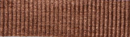 100% Natural Cotton Ribbon - Metallic Copper