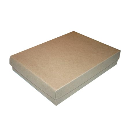Folding Set Up Apparel Boxes, Natural Kraft - 4 Sizes