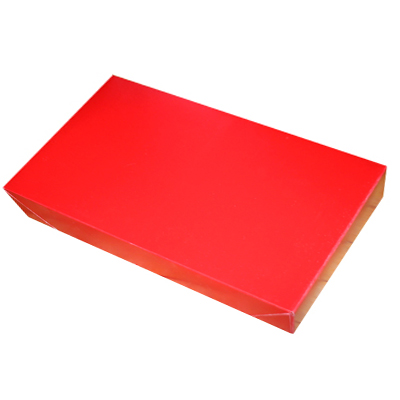 2-Piece Pop-Up Apparel Box - Glossy Red