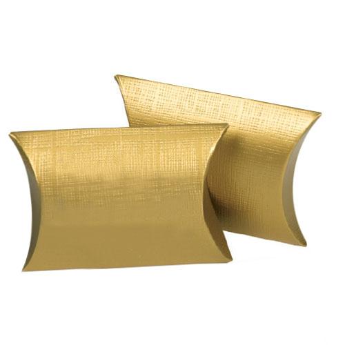Matte Gold Linen Embossed