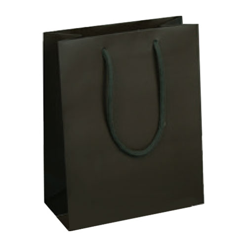 Espresso Matte Laminated with Cotton Cord Handles - Assorted Sizes