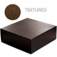 Brown Leatherette - 10 x 10 x 4