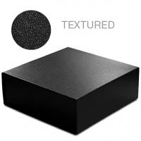 Black Leatherette - 8 x 8 x 3